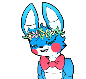 toy_bonnie__flower_crown_by_woogiegirl-d8kbr3j